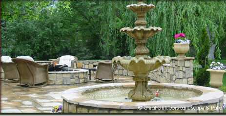 Denver, Colorado Landscaping Water Features