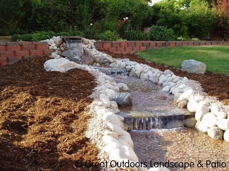 Water Features Click here for large image - Denver, Colorado Landscaping Water Features